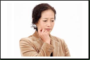 女性更年期障害の主な症状